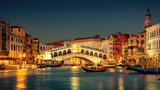 Grand Canal and Rialto Bridge, Venice - 138093514