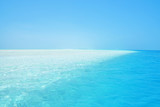 Beautiful atoll, sunny tropical scenery, islands, beach with white sand and lagoon, Nokanhui, Isle of Pines, New Caledonia, South Pacific Ocean - 138124102