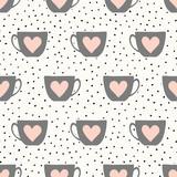 Cute Cups Pattern - 138164990