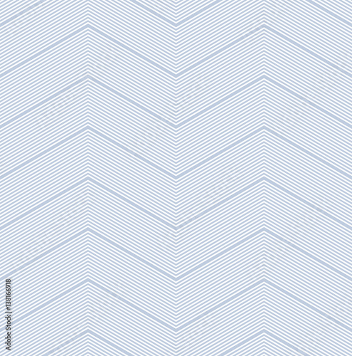 Seamless zigzag pattern. Lines texture. - 138166918