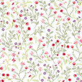 Floral seamless pattern. Flower background. Floral seamless texture with flowers. Flourish garden wallpaper