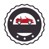 rent a car service icon vector illustration design