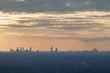 Sunset over Atlanta