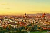 paesaggio della città di Firenze Italia