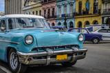 Havanna, Kuba / Reiseziel, alte Autos in der Altstadt von Havanna, Kuba.