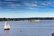 "Sails, ""Fort Gorges"""