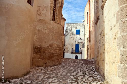 OTRANTO - alley in the historic centre