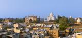 Taj Mahal at evening. - 138381797