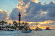 Hillsboro Lighthouse Sunrise at the Inlet Pompano Beach Florida