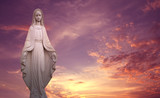 Virgin Mary symbol of love and kindness - 138426782