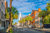 Historical downtown area of  Charleston - 138439180