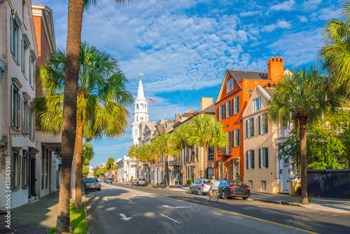 Historical downtown area of Charleston