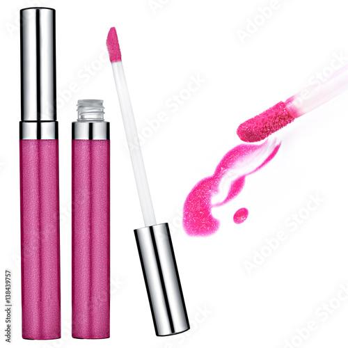 Pink Lip Gloss, sample Poster
