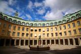 Brantingtorget square in Gamla Stan, Stockholm, Sweden