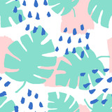 Abstract Leaves Pattern - 138458984