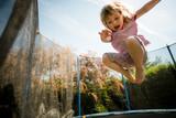Fototapety Passion - jumping trampoline