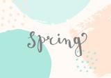 Hello Spring Design - 138466986