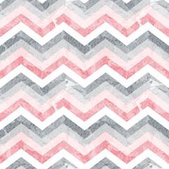 Seamless zigzag pattern with grunge texture. Vector illustration. ZIg Zag.