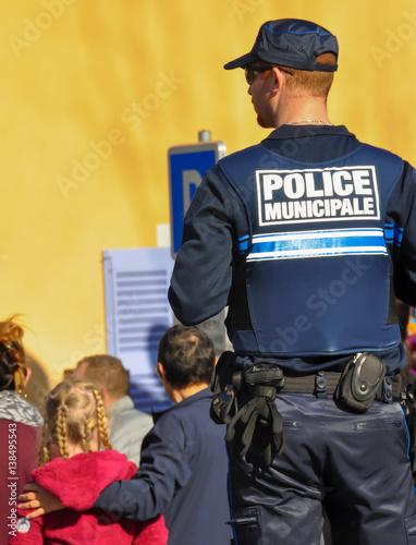 police municipale Poster