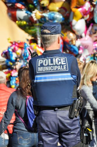 Poster police municipale