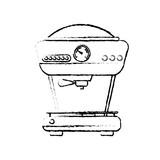 Coffee drink machine icon vector illustration graphic design