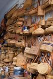 Basketware at Ubud Art Market, Bali, Indonesia