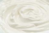 Fototapety cream closeup background photo, shallow depth of field