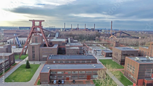 The Zollverein Coal Mine Industrial Complex © Lukassek