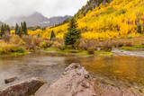 Autumn at Maroon Bells Aspen Colroado