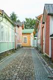 Stare miasto Rauma, w Finlandii
