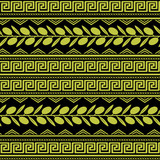 Seamless pattern with olive ornament - 138606108