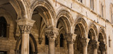 Colonnade of Rector's Palace in Old Town Dubrovnik - 138606354