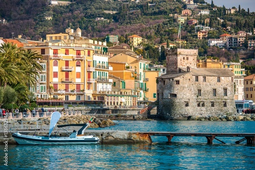Staande foto Liguria Rapallo Luguria Italy