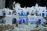 Santorini diorama