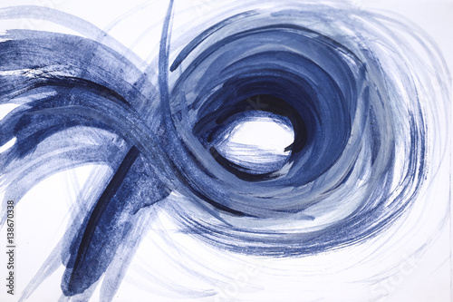 Abstract painting handmade. Abstract watercolor background painting.	