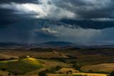 Rainy day in Toscana, Italy