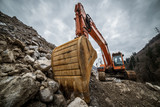 excavator for earth moving - 138672149