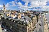 Aerial views of the Quayside at Newcastle Upon Tyne. - 138711152