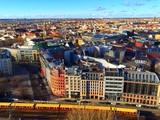 Zugfahrt in Berlin