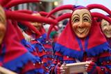 Maske der alemannische Fasnet