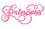 Handwritten inscription Princess