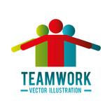teamwork people company icon vector illustration design