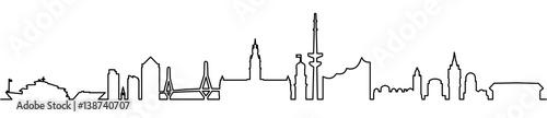 Skyline Hamburg - 138740707