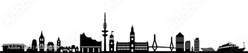 Skyline Hamburg - 138740729