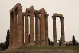 Ancient ruins of Zeus Temple, Athens, Greece