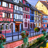 Colorful towns of Europe - Colmar in Alsace, France