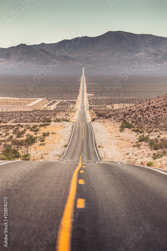 Leinwand Poster Highway in the American Southwest, USA