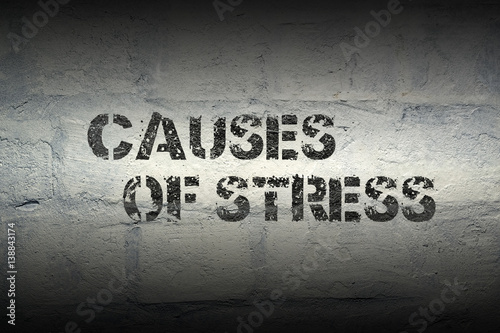 Poster causes of stress