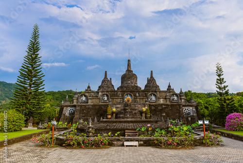Foto op Plexiglas Indonesië Buddhist temple of Banjar - island Bali Indonesia