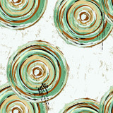 seamless brushed cirlcles background,vector